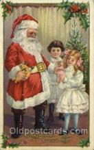 hol000424 - Santa Claus Postcards Post Card