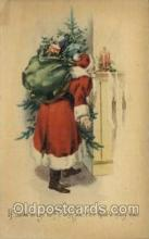 hol000429 - Santa Claus Postcards Post Card