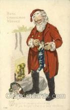 hol000430 - Santa Claus Postcards Post Card