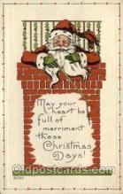 hol000446 - Santa Claus Postcards Post Card