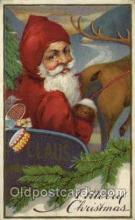 hol000449 - Santa Claus Postcards Post Card