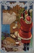 hol000452 - Santa Claus Postcards Post Card