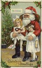 hol000455 - Santa Claus Postcards Post Card