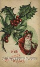 hol000456 - Santa Claus Postcards Post Card