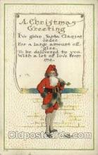 hol000468 - Santa Claus Postcards Post Card