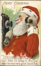 hol000476 - Artist Schmucker?  Santa Claus Postcards Post Card