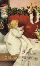 hol000478 - Artist Clapsaddle, Santa Claus Postcards Post Card