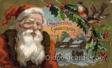hol000494 - Santa Claus Postcards Post Card