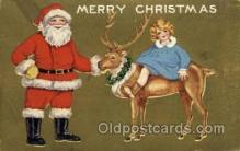 hol000495 - Santa Claus Postcards Post Card