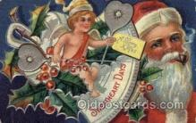 hol000499 - Santa Claus Postcards Post Card