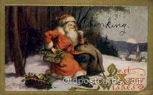hol000503 - Santa Claus Postcards Post Card