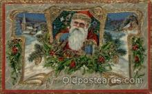 hol000505 - Santa Claus Postcards Post Card