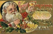hol000509 - Santa Claus Postcards Post Card