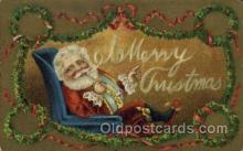 hol000510 - Santa Claus Postcards Post Card