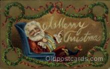 hol000511 - Santa Claus Postcards Post Card