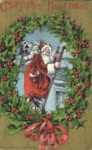 hol000519 - Santa Claus Postcards Post Card