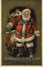 hol000522 - Santa Claus Postcards Post Card