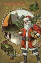 hol000533 - Santa Claus Postcards Post Card
