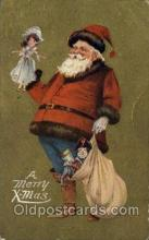 hol000534 - Santa Claus Postcards Post Card