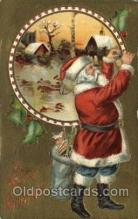 hol000537 - Santa Claus Postcards Post Card