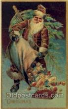 hol000546 - Reproduction Santa Claus Postcards Post Card