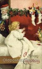 hol000547 - Artist Ellen Clapsaddle, Santa Claus Postcards Post Card