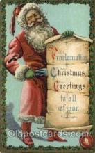 hol000564 - Santa Claus Postcards Post Card