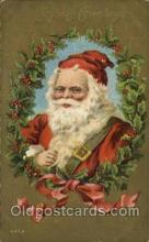 hol000585 - Santa Claus Postcards Post Card