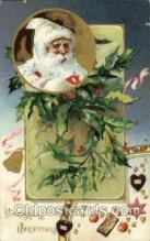 hol000587 - Santa Claus Postcards Post Card