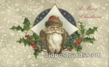 hol000596 - Brown Suit, John Winsch Santa Claus Old Vintage Antique Postcard Post Card