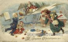 hol000598 - John Winsch Santa Claus Old Vintage Antique Postcard Post Card