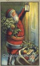 hol000664 - John Winsch Santa Claus Old Vintage Antique Postcard Post Card