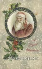 hol000666 - John Winsch Santa Claus Old Vintage Antique Postcard Post Card