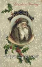 hol000668 - John Winsch Santa Claus Old Vintage Antique Postcard Post Card