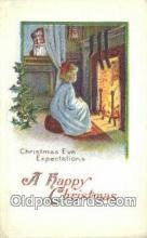 hol000683 - Santa Claus Old Vintage Antique Postcard Post Card