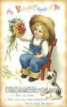 hol000699 - Santa Claus Old Vintage Antique Postcard Post Card