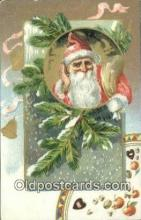hol000733 - Santa Claus Old Vintage Antique Postcard Post Card