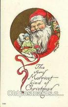 hol001014 - Holiday, Santa Claus, Christmas, Postcard Postcards
