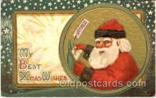 hol001084 - Holiday, Santa Claus, Christmas, Postcard Postcards