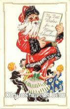 hol001332 - Holiday, Santa Claus, Christmas, Postcard Postcards