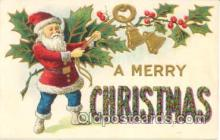 hol001351 - Holiday, Santa Claus, Christmas, Postcard Postcards