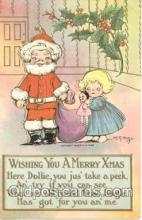 hol001365 - Holiday, Santa Claus, Christmas, Postcard Postcards