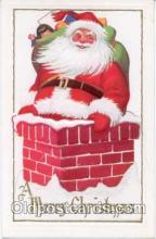 hol001398 - Holiday, Santa Claus, Christmas, Postcard Postcards