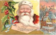 hol001404 - Holiday, Santa Claus, Christmas, Postcard Postcards
