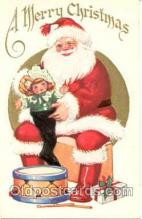 hol001407 - Holiday, Santa Claus, Christmas, Postcard Postcards