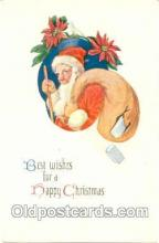 hol001427 - Holiday, Santa Claus, Christmas, Postcard Postcards