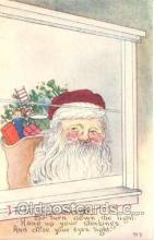 hol001431 - Holiday, Santa Claus, Christmas, Postcard Postcards
