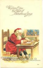 hol001449 - Holiday, Santa Claus, Christmas, Postcard Postcards