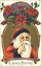 hol001457 - Santa Claus, Christmas, Postcard Postcards