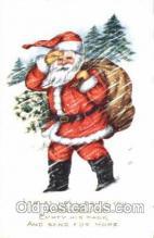 hol001458 - Santa Claus, Christmas, Postcard Postcards